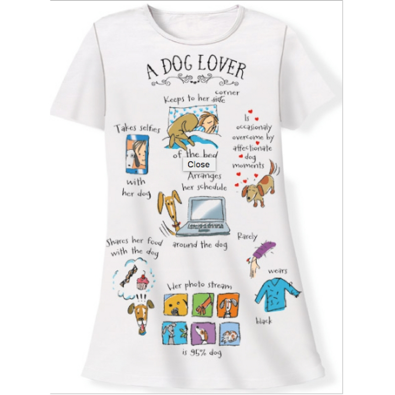 Dog Lover Sleep Shirt